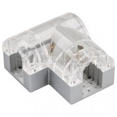 Соединитель угловой ARL-CLEAR-U15-90 (26x15mm)
