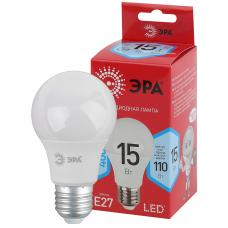 Светодиодная лампа LED A60-15W-840-E27 R ЭРА (диод, груша, 15Вт, нейт, E27)
